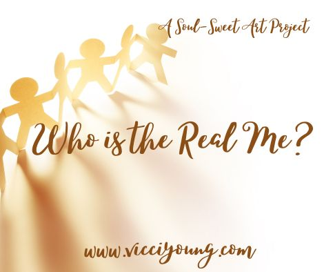who is the real me? art project